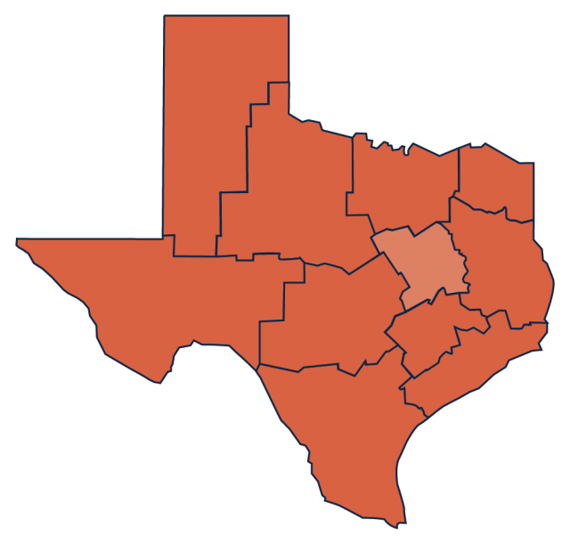 Texas Blackland Prairie region